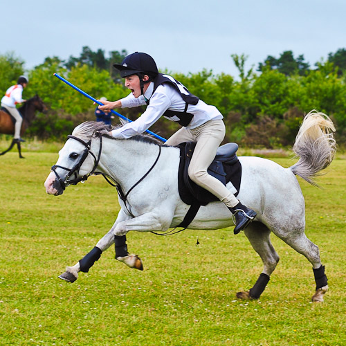 Pony Club Games Zone Finals at Lanark